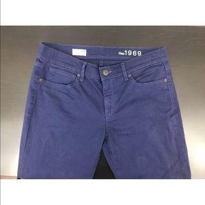 GAP 1969 Legging Jean Navy Size 29/8 Stretch